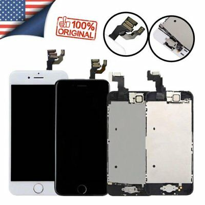 OEM For iPhone 5 5c 5s Complete LCD Display Touch Screen Replacement Home Button