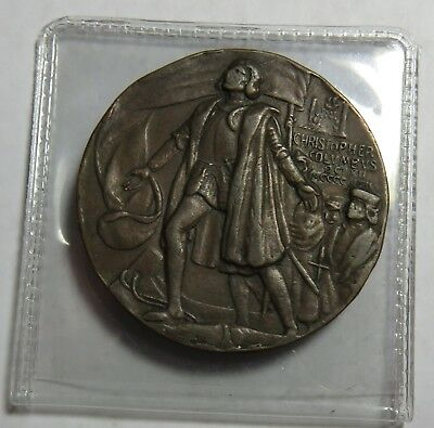 1893 Christopher Colvmbvs Chas.emmerich Co Bronze Medal