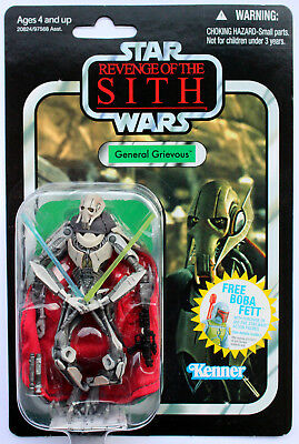 Star Wars The Vintage Collection Vc17 General Grievous Rots Hasbro