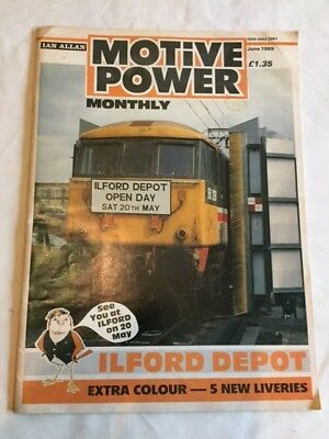"Ian Allan ""Motive Power Monthly"" Magazine June 1989"