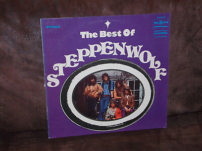 Vinyl-LP: The Best Of STEPPENWOLF (1971) [ Incl. Born To Be Wild, The Pusher]