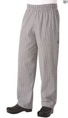 Chef Works Pants Black and White Check XXS