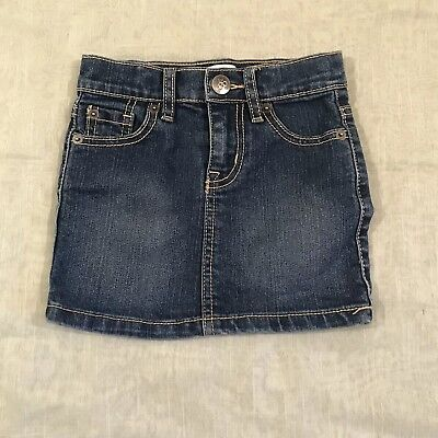 1989 Place Childrens Jean Skirt Size 4T