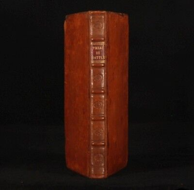 1818 Trial by Battle Right of Appeal E A KENDALL Signed