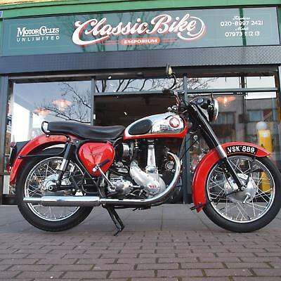 1956 BSA B33 Classic Vintage 500cc With Correct Factory Numbers, Mature Owner.