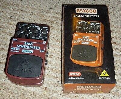 Behringer BSY-600 Bass Synthesizer Pedal