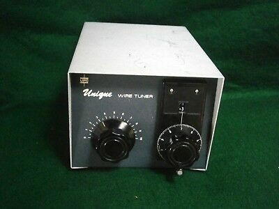 UPC 'UNIQUE' Random Long Wire Roller Inductor Antenna Tuner - REVISED
