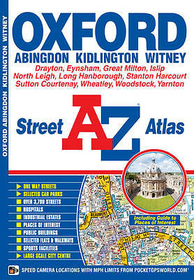 Oxford Street Atlas, Geographers A-Z Map Company, Good Condition Book, ISBN 9781
