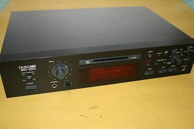 Tascam MD350 Professionial Mini Disc Record /replay