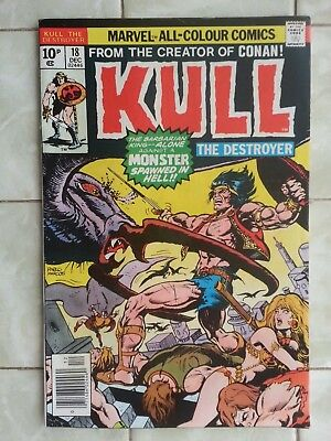 Kull the Destroyer # 18 / From Conan the Barbarian creator