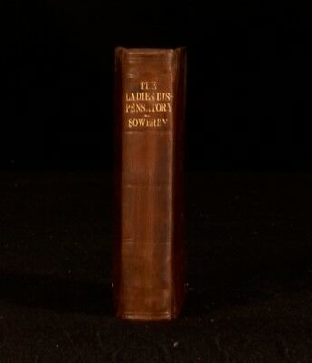 1652 The Ladies Dispensatory With an Alphabetical Table Very Scarce