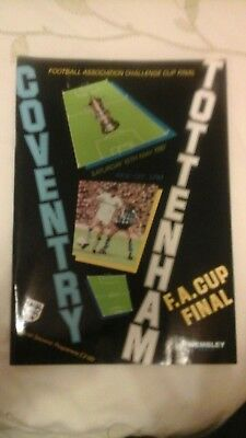 Coventry City  v  Tottenham Hotspur   FA Cup Final  1987