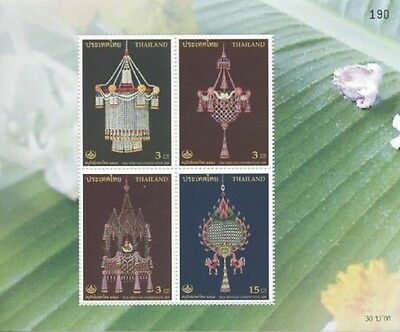 Thailand - 2005 - Thai Heritage  - Miniature sheet of 4 stamps - MNH