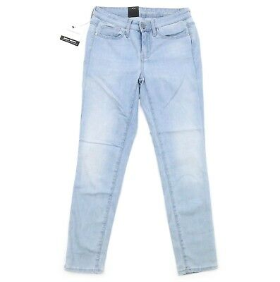 badc450834 Calvin Klein Jeans Womens Ankle Skinny Denim #454 Faded Sky Blue 10 NEW!