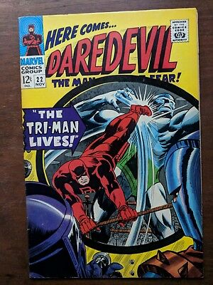 DAREDEVIL # 22 MARVEL Comic Book 1966  VF+