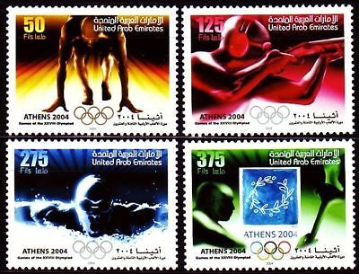 United Arab Emirates - 2004 - Olympic Games - Set of 4 stamps - MNH