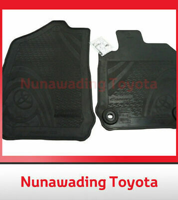 Genuine Toyota Camry Rubber Front Floor Mats Atara All Weather