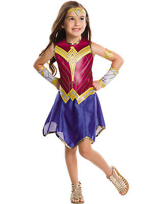 Tween Child Teen Wonder Woman Dawn Of Justice Halloween Costume M