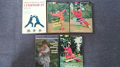 Martial Arts Book Lot, Some Rarer Titles. Long-Style Boxing, Shaolin Kung-Fu.