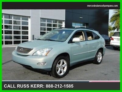 2007 Lexus RX Base Sport Utility 4-Door 2007 Used 3.5L V6 24V Automatic Front Wheel Drive SUV Premium Moonroof