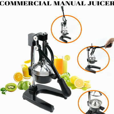Manual Squeezer Commercial Juicer Citrus Orange Lemon Fruit Hand Press Machine