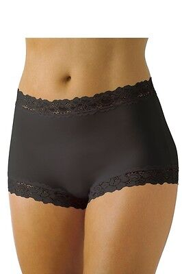 JOCKEY - PARISIENNE BAMBOO Full Brief    BLACK   Sz 12-20 NEW   FREE POSTAGE