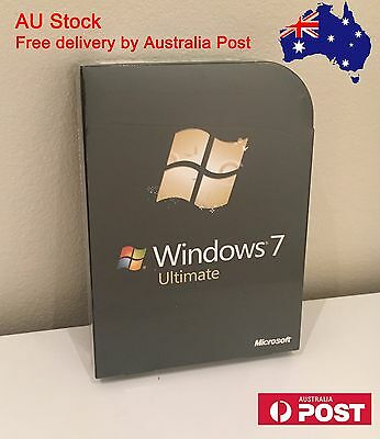 Microsoft Windows 7 Ultimate 32 & 64 bit with DVD FULL Version Sealed Packing