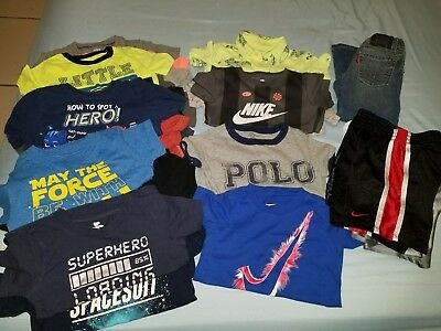 27 Piece Lot Toddler Boy Clothing Size 3T Spring/Summer