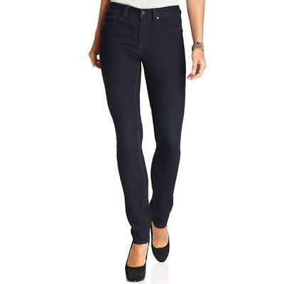 New Calvin Klein Power Stretch Ultimate Skinny Jeans Dark Blue 444 Rinse