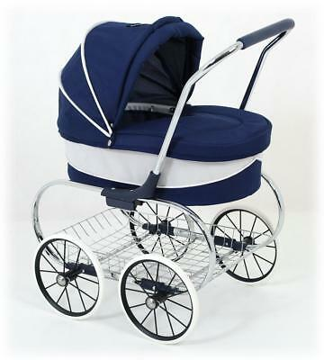 Just Like Mum Princess Doll Stroller (Navy) 3+ Years - Valco Baby Free Shipping!