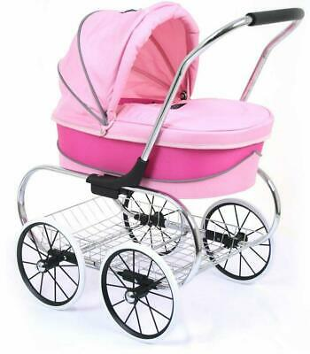 Just Like Mum Princess Doll Stroller (Hot Pink) - 3+ Years - Valco Baby Free Shi