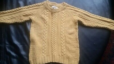 Witchery size 3 boys unisex cotton cable knit jumper in Vguc.jumper only.