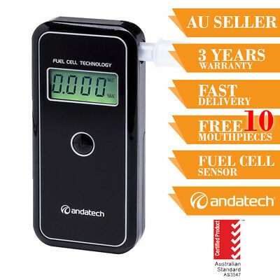 Breathalyser Breath Test Andatech Alcosense Stealth Personal Fuel Cell Sensor