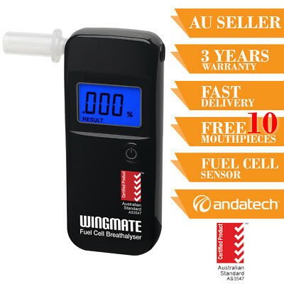 Breathalyser Breath Test Alcohol Tester Wingmate Rover Fuel Cell Sensor