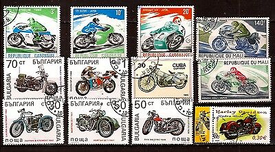 ALL COUNTRIES the different brands of manufactures of motorcycles A374