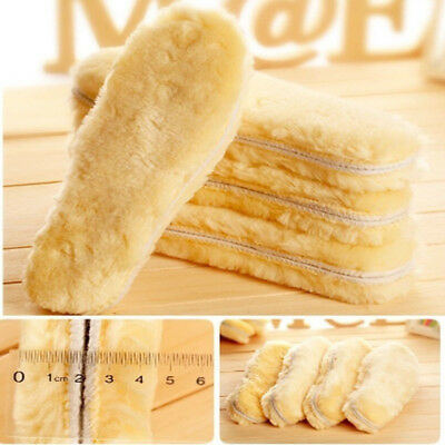Sheepskin Boots Cashmere Thermal Shoes Shoe Warm Winter Insoles Snow 1pair
