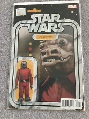 Star Wars #15 Snaggletooth Action Figure Variant Cover Comic Marvel Comics