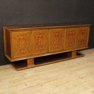 Cupboard inlaid furniture italian wood sideboard antique style living room 900