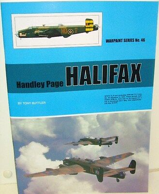 Warpaint Series No.46 - Handley Page Halifax           44 Pages             Book