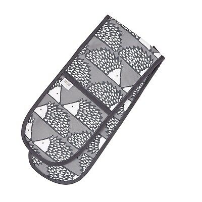 Scion Living Spike the Hedgehog Double Oven Gloves Grey