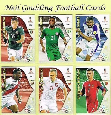 Panini WORLD CUP 2018 ☆ Team Mate ☆ Football Cards #226 to #297