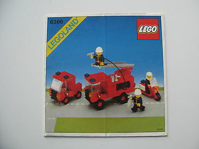 bauanleitung lego legoland 6385 feuerwehr station aus 1985 eur 1 00 picclick de. Black Bedroom Furniture Sets. Home Design Ideas