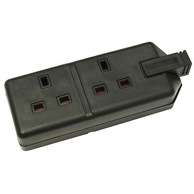 Perma Plug 2 Way 13Amp Trailing Socket