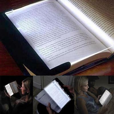 Light Book Creative Flat Reading Led Night Portable Panel Travel Reading Lamp