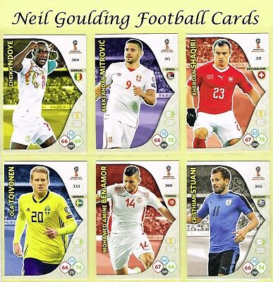 Panini WORLD CUP 2018 ☆ Team Mate ☆ Football Cards #298 to #360
