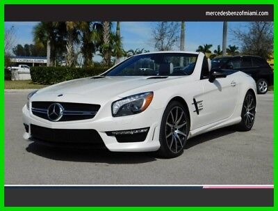 2015 Mercedes-Benz SL-Class SL 63 AMG 2015 SL 63 AMG Used Certified Turbo 5.5L V8 32V Automatic Rear Wheel Drive