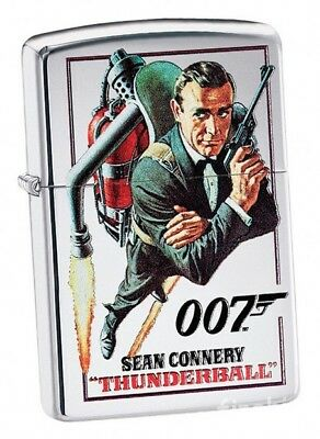 James Bond 007 High Polished ZIPPO Spring 2018  neu+ovp Sean Connery