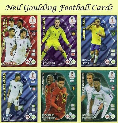 Panini WORLD CUP 2018 ☆ Power 4/Goal Stopper/Double Trouble ☆ Cards #401 to #441