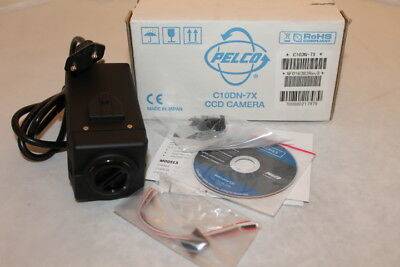 PELCO MODEL C10DN-7X DAY & NIGHT COLOR CCD CAMERA PAL (No Lens)