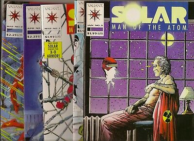 Solar Man of the Atom Lot of 5 Comics NM - Issues #5 thru #9